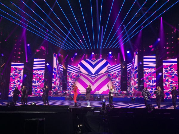 4th Impact X-Factor Tour – Stage Visuals