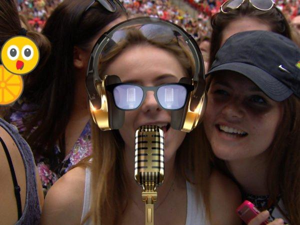 Summertime Ball karaoke stage moment